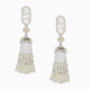 Kendra Scott | Dove Statement Earrings in Silver